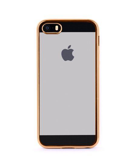 Чехол для iPhone InterStep для iPhone 5/5s золотой